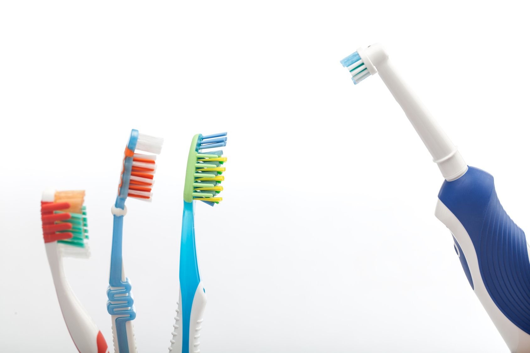 electric vs manual toothbrush